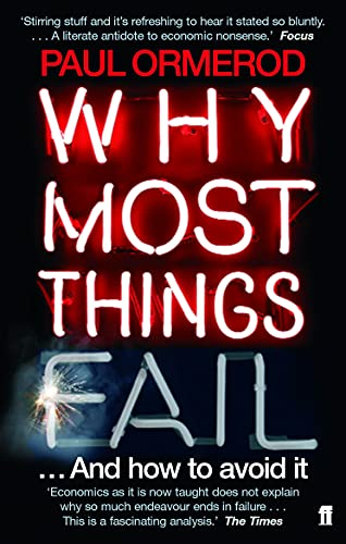 9780571220137: Why Most Things Fail: And How to Avoid It
