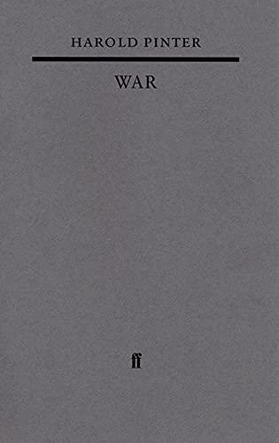 9780571221318: War