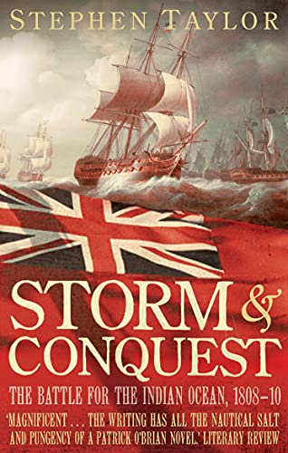 9780571224678: Storm and Conquest: The Battle for the Indian Ocean, 1808-10
