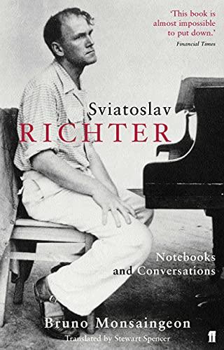 9780571225118: Sviatoslav Richter: Notebooks and Conversations