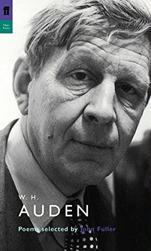 9780571226719: Fuller, J: W. H. Auden: Poems Selected by John Fuller (Poet to Poet)