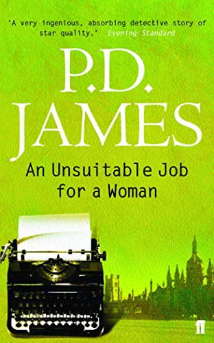 9780571228553: An Unsuitable Job for a Woman (Cordelia Gray Mystery)