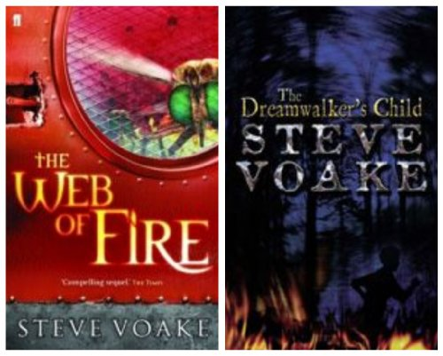 9780571235384: The Web of Fire: AND The Dreamwalker's Child