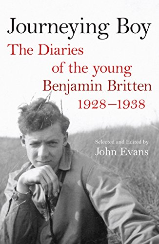 9780571238835: Journeying Boy: The Diaries of the Young Benjamin Britten 1298-38