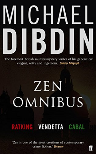 Zen Omnibus Ratking Vendetta Cabal: Michael Dibdin,Michael Dibdin