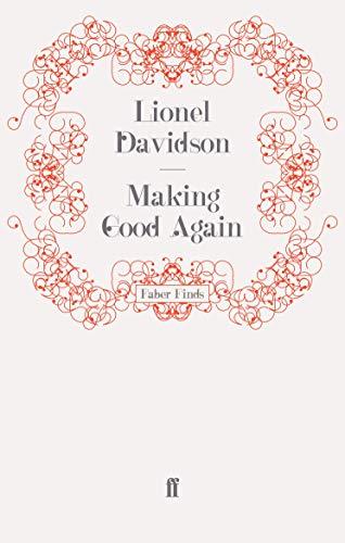 9780571242900: Making Good Again