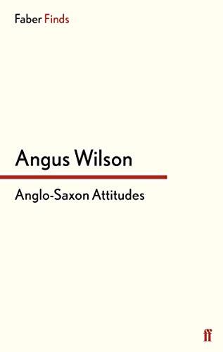 9780571243174: Anglo-Saxon Attitudes