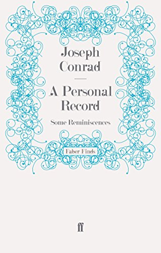 9780571243556: A Personal Record: Some Reminiscences