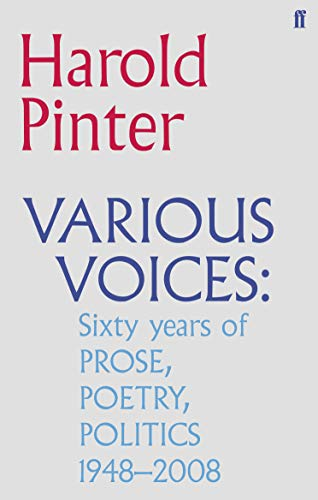 9780571244805: Various Voices: sixty years of Prose, Poetry, Politics, 1948-2008