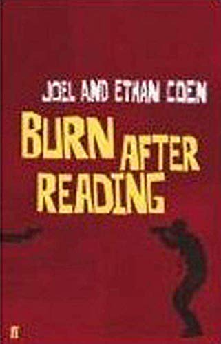 9780571245222: Burn After Reading: A Screenplay