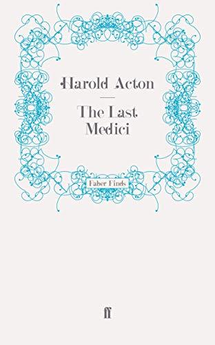 9780571249084: The Last Medici