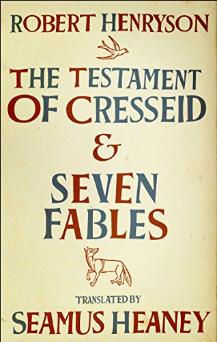 9780571249282: The Testament of Cresseid & Seven Fables: Translated by Seamus Heaney