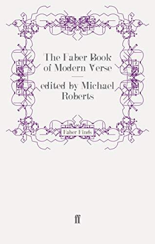 9780571253814: The Faber Book of Modern Verse