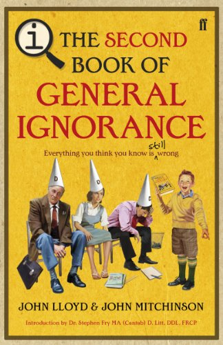 9780571269655: The Second Book of General Ignorance: A Quite Interesting Book. John Lloyd and John Mitchinson
