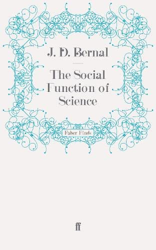 9780571272723: The Social Function of Science