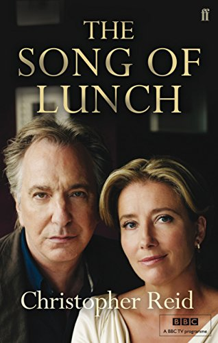 9780571273522: The Song of Lunch