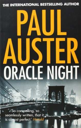 9780571276523: Oracle Night