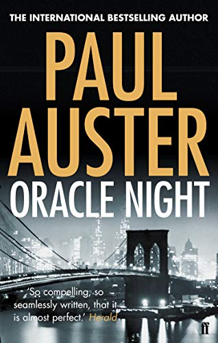 9780571276622: Oracle Night