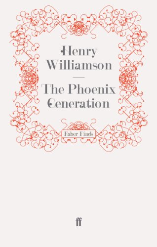 9780571278084: The Phoenix Generation (A Chronicle of Ancient Sunlight)