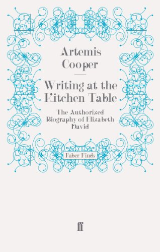 9780571279609: Writing at the Kitchen Table: The Authorized Biography of Elizabeth David
