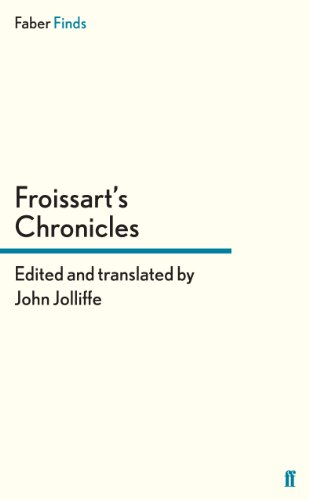 9780571290222: Froissart's Chronicles