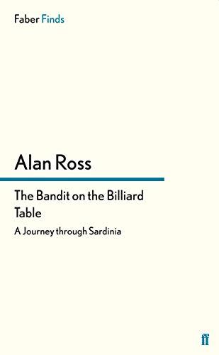 9780571305186: The Bandit on the Billiard Table: A Journey through Sardinia