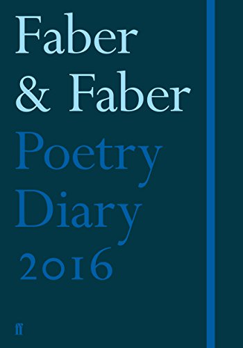 9780571318070: Faber Poetry Diary 2016: Dark Blue