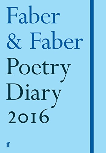 9780571318087: Faber Poetry Diary 2016: Pale Blue