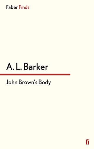 9780571322022: John Brown's Body