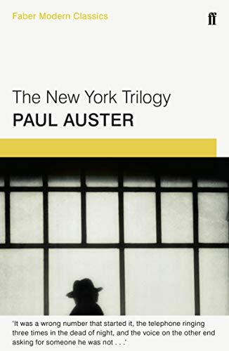 9780571322800: The New York Trilogy: Faber Modern Classics