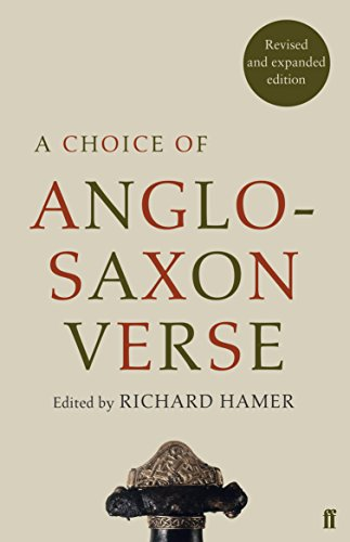 9780571325399: A Choice of Anglo-Saxon Verse