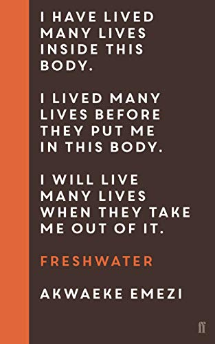 9780571345397: Freshwater
