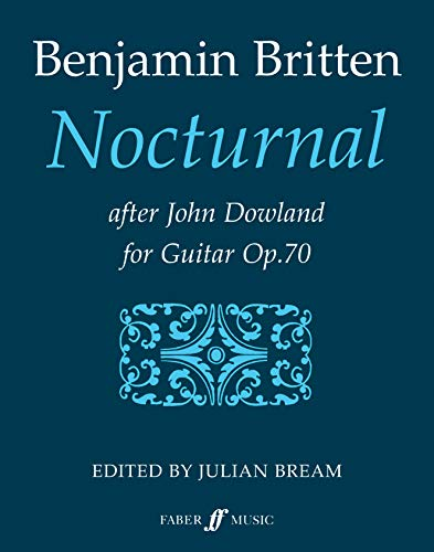 9780571500055: Nocturnal After John Dowland: For Guitar, Op. 70