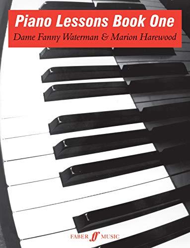 9780571500246: Piano Lessons, Book 1 (Waterman & Harewood Piano)