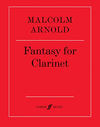 9780571500291: Fantasy for Clarinet: Part(s) (Faber Edition)
