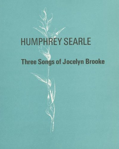 Three Songs of Jocelyn Brooke: (Voice and