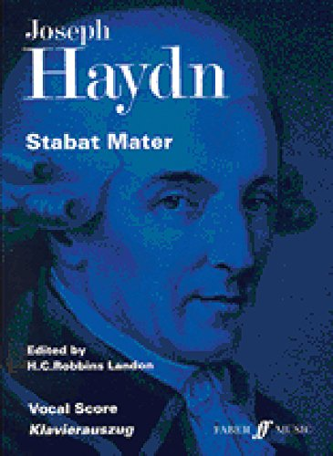 9780571505005: Stabat Mater: Vocal Score, Vocal Score (Faber Edition)