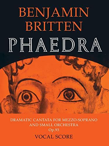 9780571505210: Phaedra: (vocal score)