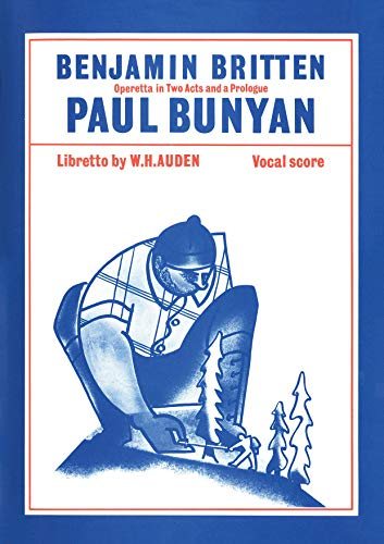 9780571505388: Paul Bunyan: Vocal Score, Vocal Score (Faber Edition)