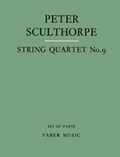 9780571505494: String Quartet No. 9 (Faber Edition)
