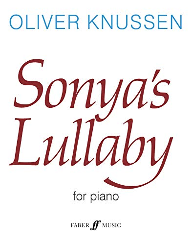 9780571505685: Sonya's Lullaby (Faber Edition)
