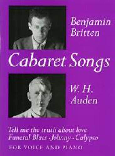 9780571505777: Cabaret Songs: (Medium Voice and Piano)