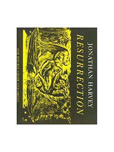 9780571506354: Resurrection: Score (Faber Edition)