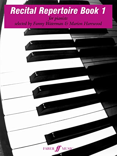 9780571506361: Recital Repertoire, Bk 1 (Faber Edition: The Waterman / Harewood Piano Series)