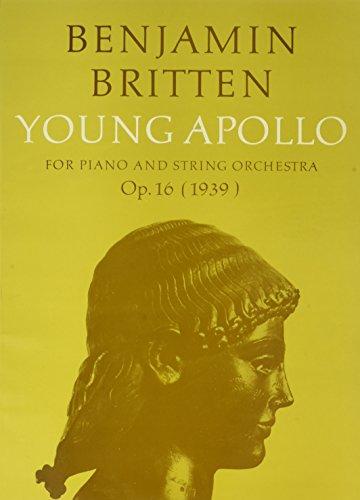 9780571506460: Young Apollo: Score