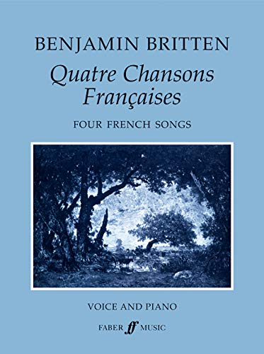 9780571506514: Quatre Chansons Francaises / Four French Songs: For High Voice and Orchestra