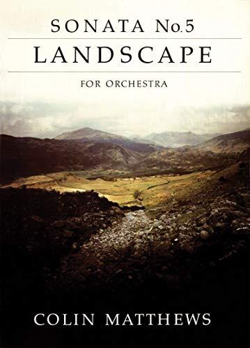 Sonata No. 5: Landscape: (Score) (Paperback)