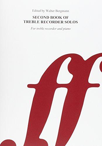9780571506620: Second Book of Treble / Alto Recorder Solos (Faber Edition)