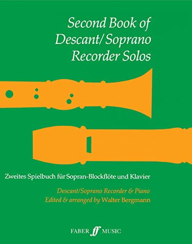 9780571506767: Second Book Descant / Soprano Recorder Solos (Faber Edition)