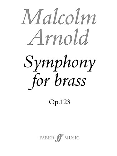 9780571506835: Symphony for Brass, Op. 123 (Score) (Faber Edition)
